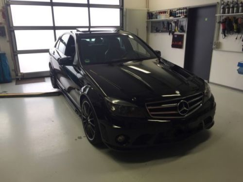 gebraucht amg facelift umbau mercedes c63 amg 2008 km in mannheim. Black Bedroom Furniture Sets. Home Design Ideas