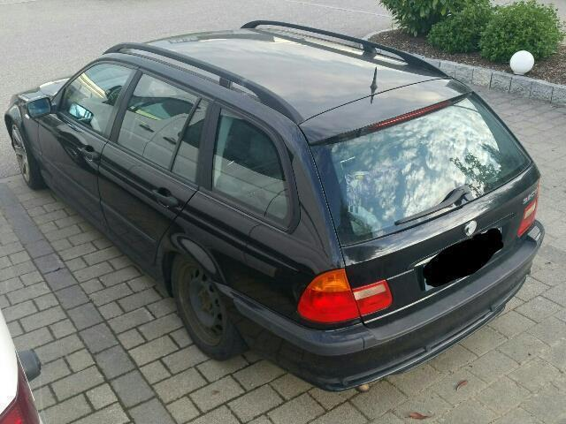 verkauft bmw 320 d touring gebraucht 2004 km in burgrieden. Black Bedroom Furniture Sets. Home Design Ideas