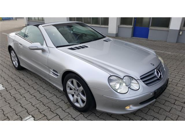 verkauft mercedes sl500 cabrio gebraucht 2002 km. Black Bedroom Furniture Sets. Home Design Ideas