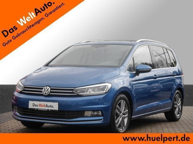 gebraucht VW Touran 2.0 TDI Highline 7-Sitzer NAVI Pro PANO