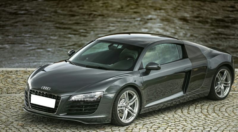 verkauft audi r8 coup 4 2 fsi quattro gebraucht 2007 61. Black Bedroom Furniture Sets. Home Design Ideas