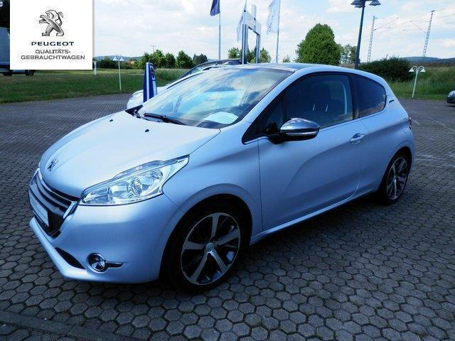 verkauft peugeot 208 120 vti allure na gebraucht 2012 km in cham. Black Bedroom Furniture Sets. Home Design Ideas
