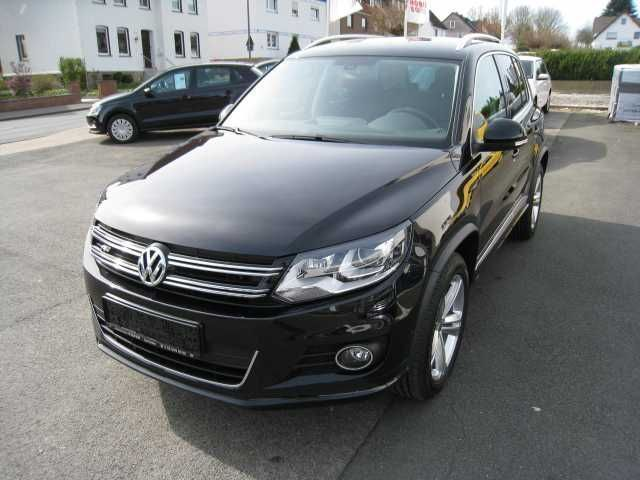 verkauft vw tiguan lounge r line 2 0 t gebraucht 2015 km in schieder schwalen. Black Bedroom Furniture Sets. Home Design Ideas