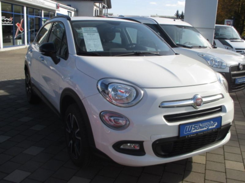 verkauft fiat 500x 1 6 e torq 4x2 coll gebraucht 2016 km in friedberg. Black Bedroom Furniture Sets. Home Design Ideas
