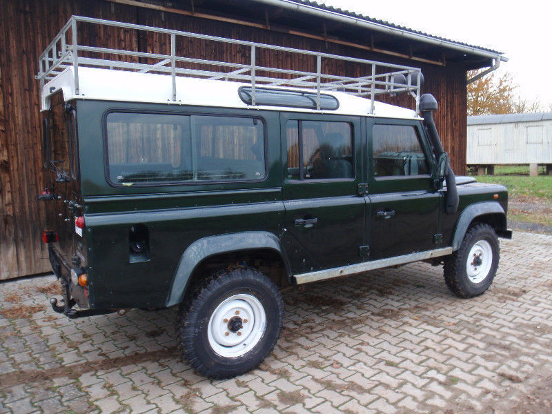verkauft land rover defender 110 td5 gebraucht 1999 170. Black Bedroom Furniture Sets. Home Design Ideas