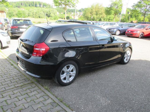 verkauft bmw 118 baureihe 1 lim d sch gebraucht 2008 km in neuburg a d kammel. Black Bedroom Furniture Sets. Home Design Ideas