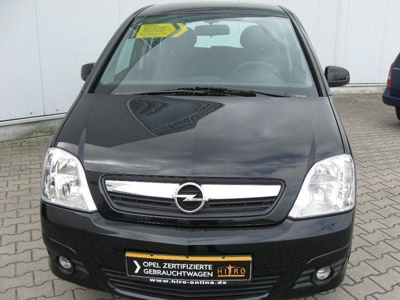 verkauft opel meriva edition gebraucht 2008 km in aurich. Black Bedroom Furniture Sets. Home Design Ideas