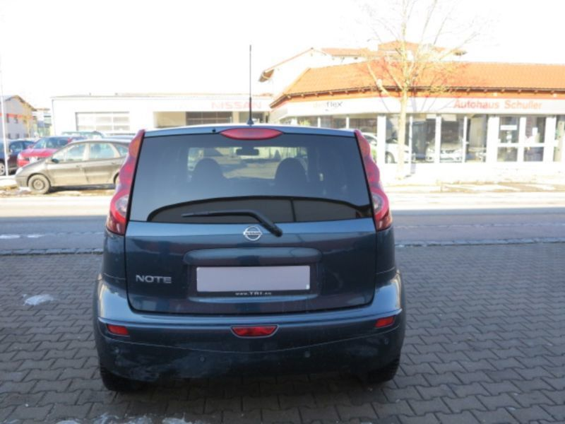 verkauft nissan note 1 6 i way gebraucht 2013 km. Black Bedroom Furniture Sets. Home Design Ideas