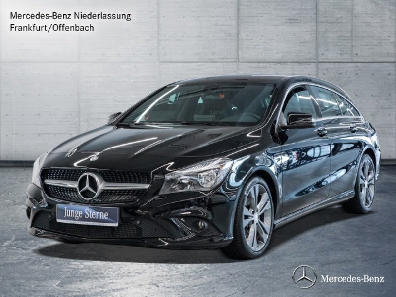 verkauft mercedes cla180 shooting brak gebraucht 2016 km in frankfurt am main. Black Bedroom Furniture Sets. Home Design Ideas