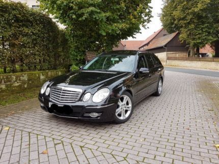 verkauft mercedes e320 cdi t aut lede gebraucht 2006 km in magdeburg. Black Bedroom Furniture Sets. Home Design Ideas