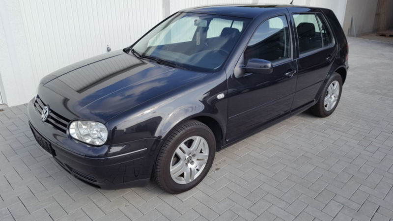 verkauft vw golf iv 1 9 tdi 5 trg gebraucht 2002 km in n rnberg. Black Bedroom Furniture Sets. Home Design Ideas