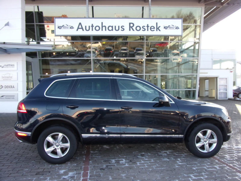 verkauft vw touareg bmt v6tdi 193 tdia gebraucht 2015 km in wolnzach. Black Bedroom Furniture Sets. Home Design Ideas