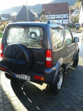 verkauft suzuki jimny gebraucht 2009 km in bad laasphe. Black Bedroom Furniture Sets. Home Design Ideas