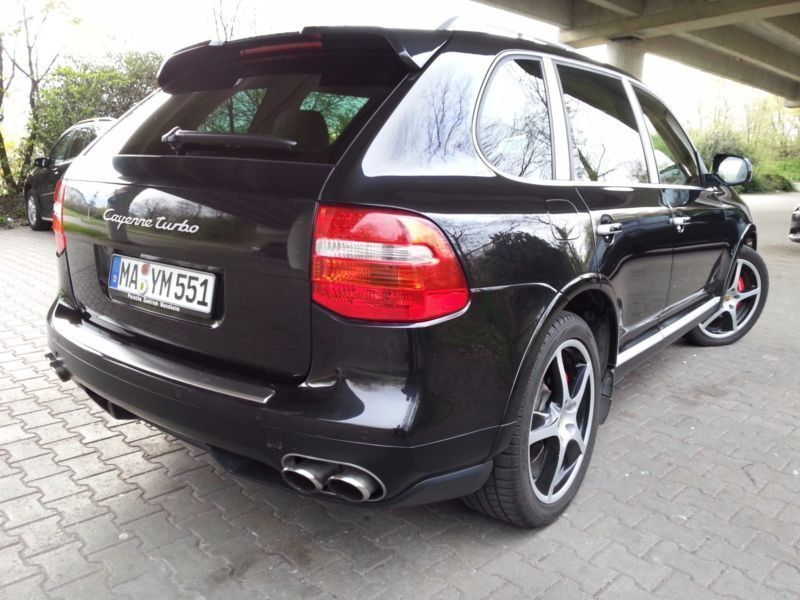 verkauft porsche cayenne turbo gebraucht 2007 km. Black Bedroom Furniture Sets. Home Design Ideas