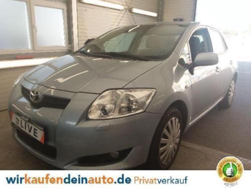 Verkauft Toyota Auris 16 Executive Pd Gebraucht 2007 50299 Km