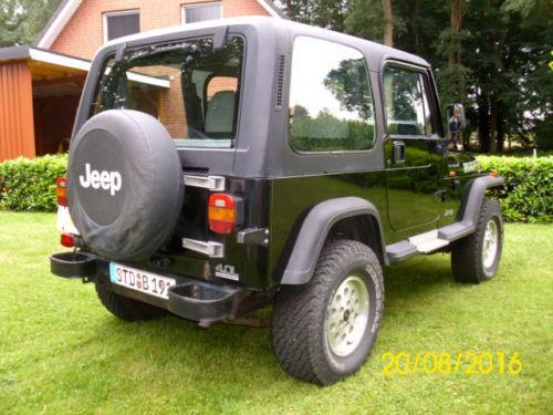 verkauft jeep wrangler 4 0 broadway m gebraucht 1994 km in berg. Black Bedroom Furniture Sets. Home Design Ideas