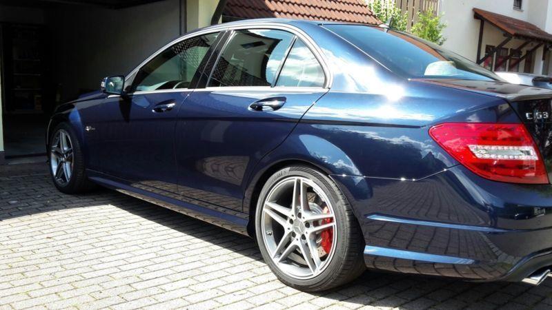 verkauft mercedes c63 amg amg limousine gebraucht 2013 km in weinheim. Black Bedroom Furniture Sets. Home Design Ideas