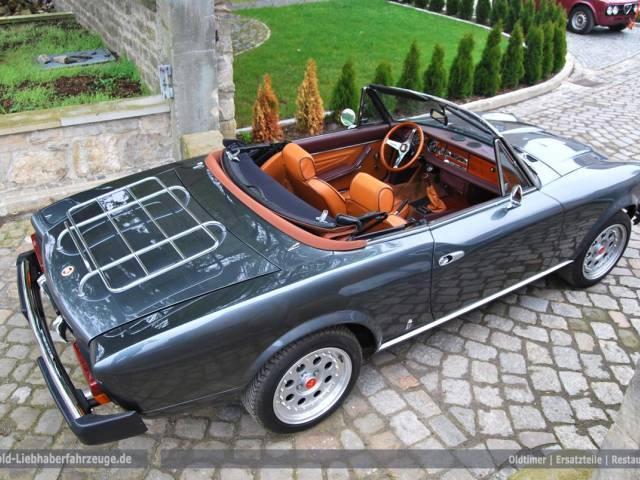 gebraucht spider cs0 1980 fiat 124 spider 1980 km 1. Black Bedroom Furniture Sets. Home Design Ideas