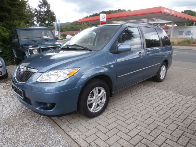 verkauft mazda mpv 2 0 td comfort 7 si gebraucht 2004 km in duisburg. Black Bedroom Furniture Sets. Home Design Ideas