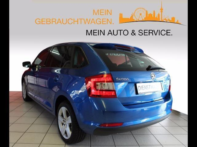 gebraucht rapid 1 6 tdi active green tec sunset lederlenkrad skoda rapid spaceback 2015 km. Black Bedroom Furniture Sets. Home Design Ideas