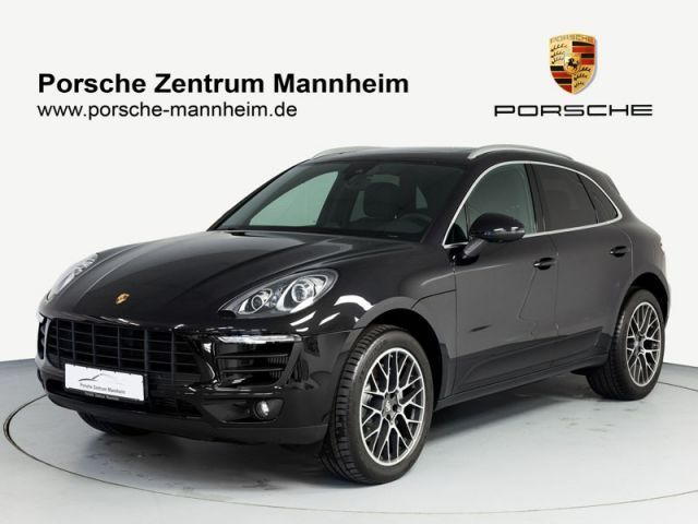 verkauft porsche macan s luftfederung gebraucht 2014 km in mannheim. Black Bedroom Furniture Sets. Home Design Ideas