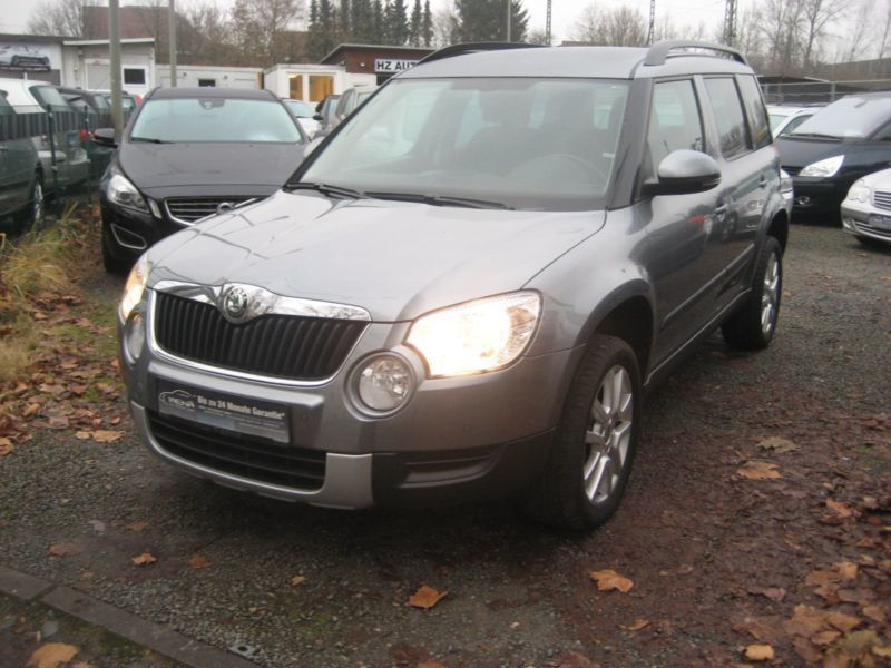verkauft skoda yeti tdi 4x4 allrad 180 gebraucht 2013 km in wolfsburg. Black Bedroom Furniture Sets. Home Design Ideas