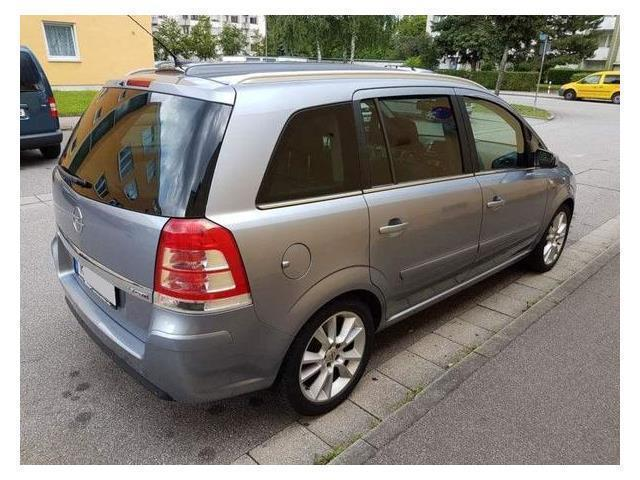 verkauft opel zafira gebraucht 2008 km in regensburg. Black Bedroom Furniture Sets. Home Design Ideas