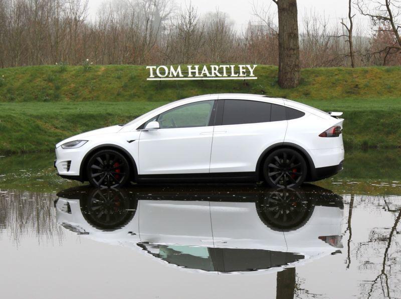 Verkauft Tesla Model X P100d Gebraucht 2017 32 000 Km In