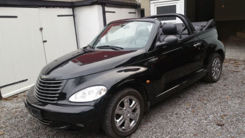 pt cruiser gebrauchte chrysler pt cruiser kaufen 590 g nstige autos zum verkauf. Black Bedroom Furniture Sets. Home Design Ideas