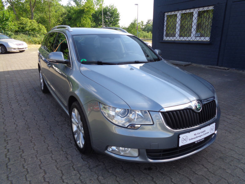 verkauft skoda superb combi elegance gebraucht 2010 km in rodgau. Black Bedroom Furniture Sets. Home Design Ideas