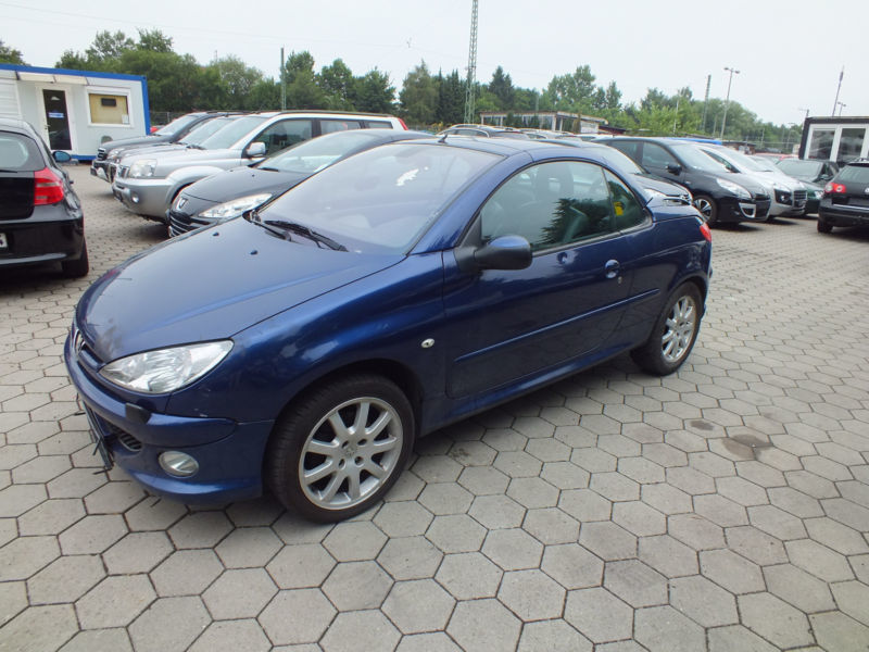 verkauft peugeot 206 cc 110 platinum k gebraucht 2005 km in hamburg. Black Bedroom Furniture Sets. Home Design Ideas