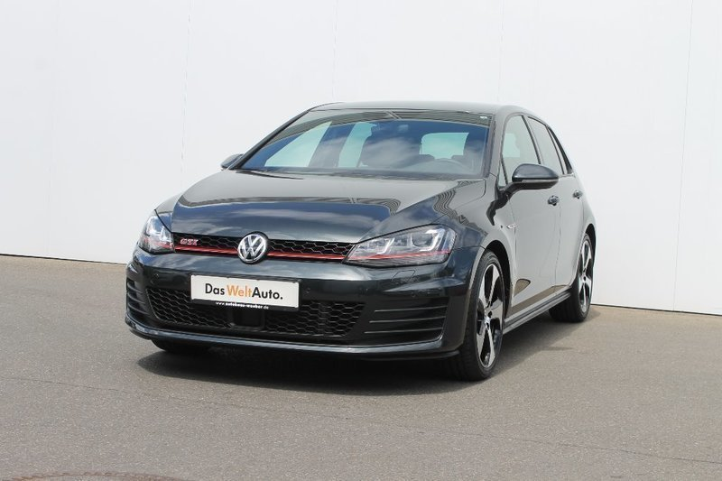 verkauft vw golf vii gti 2 0 tsi dsg gebraucht 2016 km in landsberg. Black Bedroom Furniture Sets. Home Design Ideas