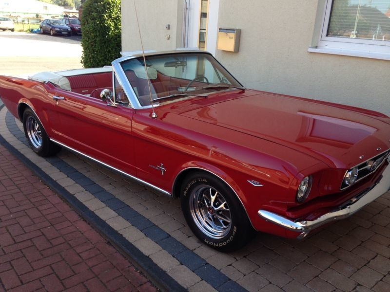 gebraucht c code cabrio 289 ford mustang 1965 km in dortmund. Black Bedroom Furniture Sets. Home Design Ideas