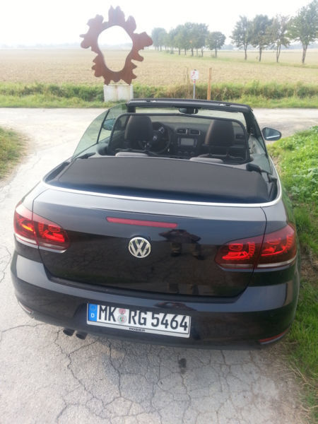 verkauft vw golf cabriolet cabrio 2 0 gebraucht 2014 km in balve. Black Bedroom Furniture Sets. Home Design Ideas