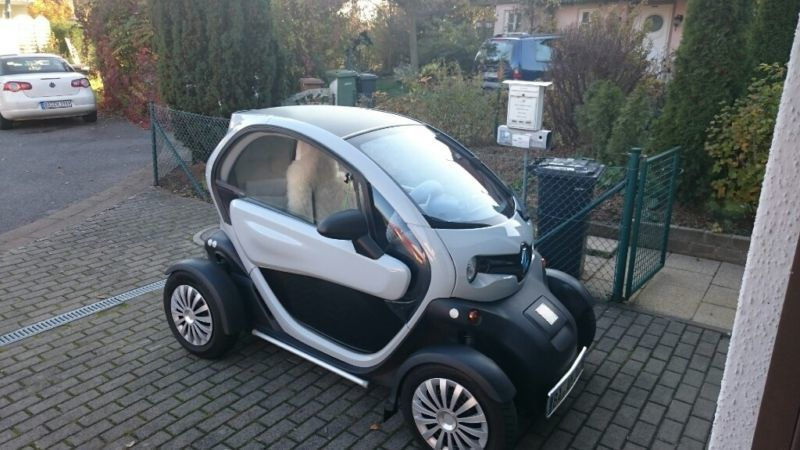 verkauft renault twizy gebraucht 2012 km in lichteneiche. Black Bedroom Furniture Sets. Home Design Ideas