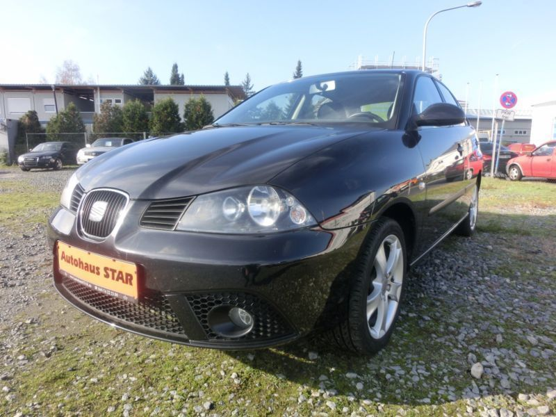 verkauft seat ibiza 1 4 16v gebraucht 2007 km in derschen. Black Bedroom Furniture Sets. Home Design Ideas