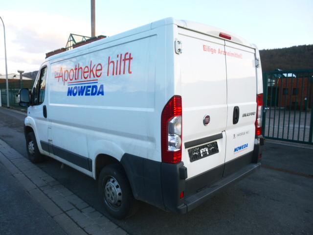 gebraucht lkw zulassung kastenwagen euro 4 fiat ducato 2011 km in eisenach. Black Bedroom Furniture Sets. Home Design Ideas