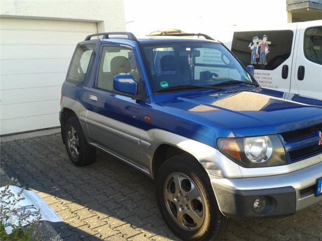 verkauft mitsubishi pajero pinin gebraucht 2000 km in sachsenheim. Black Bedroom Furniture Sets. Home Design Ideas