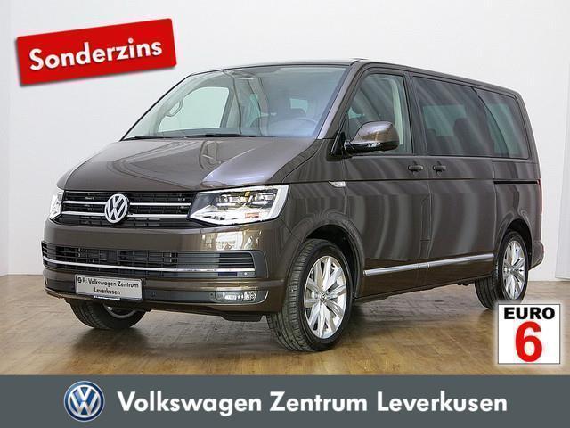 gebraucht VW Multivan T6High NAVI ACC LED PANO KAMERA AHK - Leder,Klima,Sitzheizung,Alu,Servo,Standheizung,AHK,