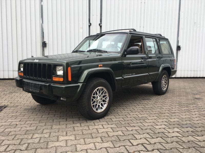 verkauft jeep cherokee 4 0 limited aut gebraucht 1998 km in bochum. Black Bedroom Furniture Sets. Home Design Ideas