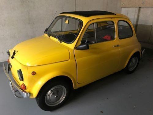 gebraucht italien import fiat 500l 1971 km in braunschweig. Black Bedroom Furniture Sets. Home Design Ideas