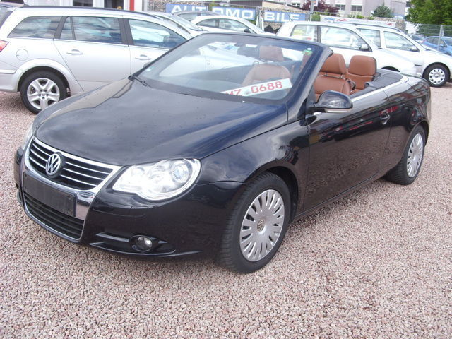 verkauft vw eos 2 0 fsi panoramadach k gebraucht 2007 km in worms. Black Bedroom Furniture Sets. Home Design Ideas