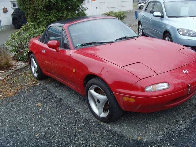 verkauft mazda mx3 mx 5 cabrio rad st gebraucht 1996 km in chemnitz. Black Bedroom Furniture Sets. Home Design Ideas