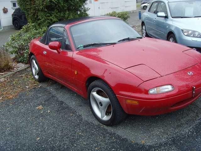 verkauft mazda mx3 mx- 5 cabrio-rad st., gebraucht 1996, 151.118 km