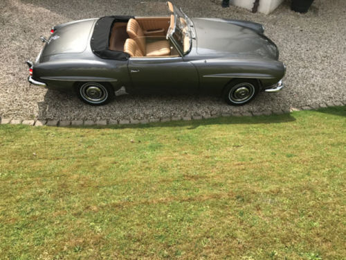 verkauft mercedes 190 sl gebraucht 1959 km in leimen. Black Bedroom Furniture Sets. Home Design Ideas