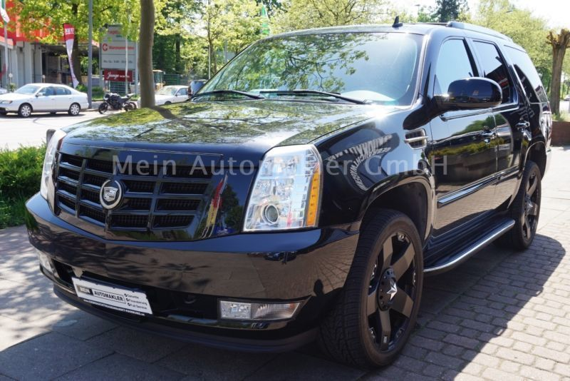 121 gebrauchte cadillac escalade cadillac escalade. Black Bedroom Furniture Sets. Home Design Ideas