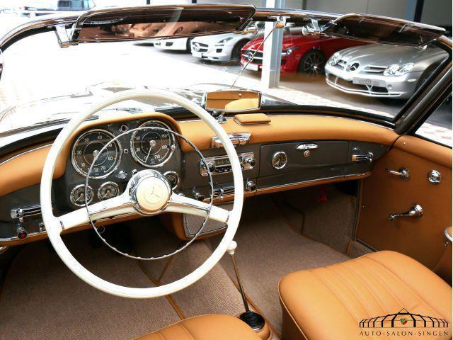 verkauft mercedes 190 sl 3 notsitz k gebraucht 1957. Black Bedroom Furniture Sets. Home Design Ideas