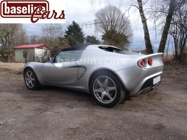 verkauft lotus elise s toyota airb gebraucht 2009. Black Bedroom Furniture Sets. Home Design Ideas