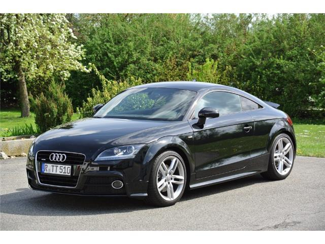 verkauft audi tt coupe 2 0 tdi quattro gebraucht 2014 km in regensburg. Black Bedroom Furniture Sets. Home Design Ideas