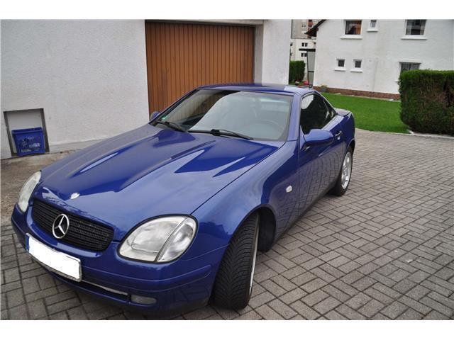verkauft mercedes slk200 gebraucht 1999 km in eberbach. Black Bedroom Furniture Sets. Home Design Ideas